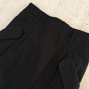 Black Business Skirt with Pockets